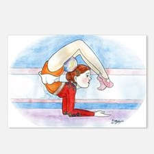 Cute Rhythmic gymnastics Postcards (Package of 8)