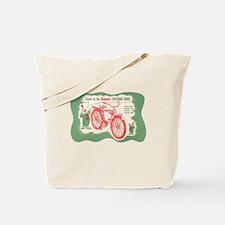 Cute Vintage bicycle Tote Bag
