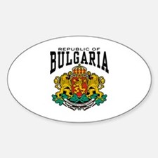 Republic Of Bulgaria Decal