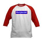 John Galt Kids Baseball Jersey