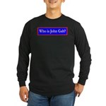 John Galt Long Sleeve Dark T-Shirt