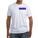 John Galt Fitted T-Shirt