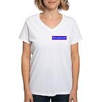 John Galt Women's V-Neck T-Shirt