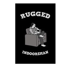 Rugged Indoorsman Postcards (Package of 8)