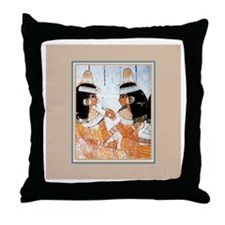 Egyptian Women -Throw Pillow