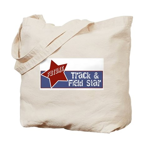 Future Track and Field Star Tote Bag