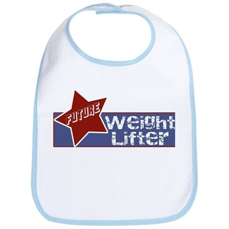 Future Weight Lifter Bib
