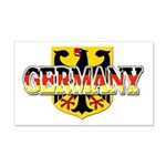 Germany Coat of Arms 22x14 Wall Peel