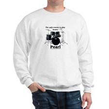 Pearl Drummer Design 2 Sweatshirt