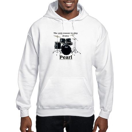 Pearl Drummer Design 2 Hooded Sweatshirt