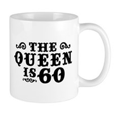The Queen is 60 Mug