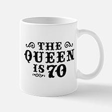 The Queen is 70 Mug