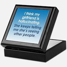 Hallucinating Girlfriend Keepsake Box