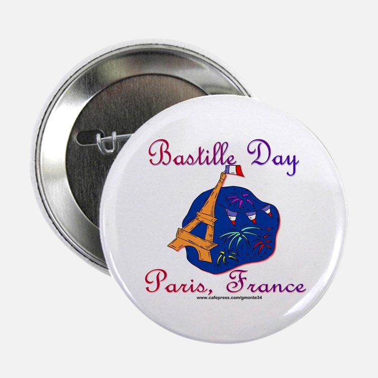 "Bastille Day! 2.25"" Button (10 pack)"