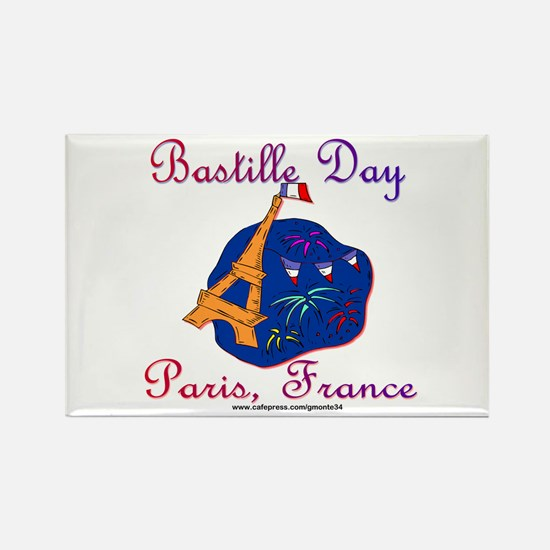 Bastille Day! Rectangle Magnet