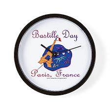 Bastille Day! Wall Clock