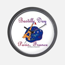 Bastille Day! Wall Clock