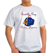 Bastille Day! Ash Grey T-Shirt
