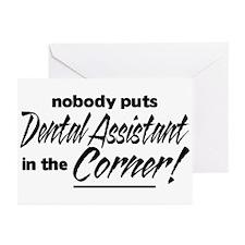 Dental Asst Nobody Corner Greeting Cards (Pk of 10