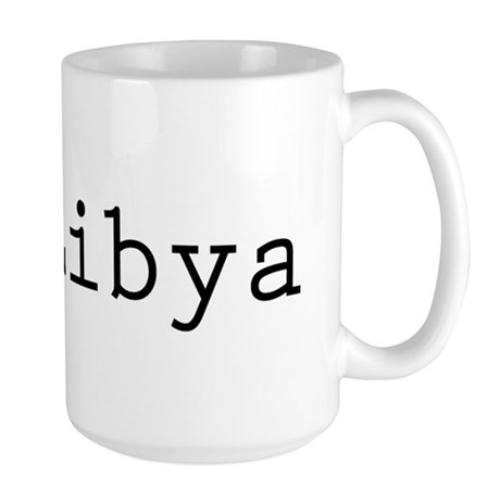 I (lheart) Libya Large Mug