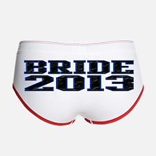 Bride 2013 Women's Boy Brief