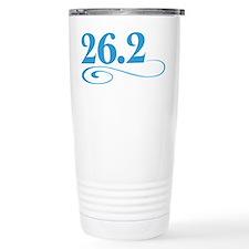 26.2 swirl Travel Mug