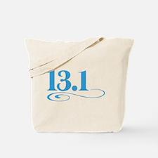 13.1 swirl Tote Bag