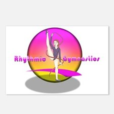 Funny Rhythmic gymnastics Postcards (Package of 8)