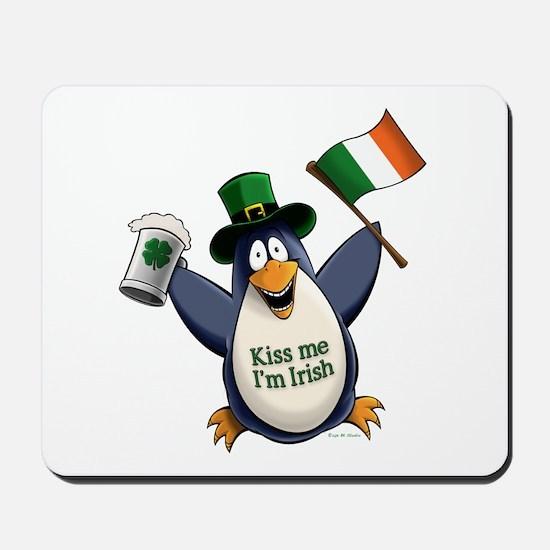 Irish Penguin Mousepad