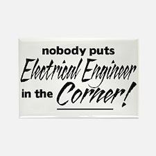 Electrical Eng Nobody Corner Rectangle Magnet