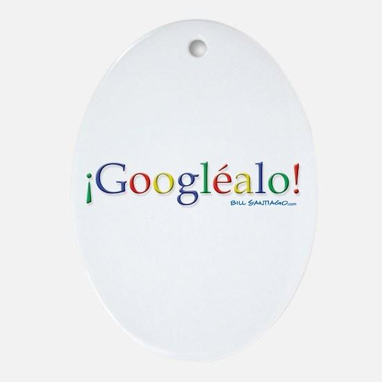 Googlealo Ornament (Oval)