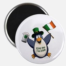 Irish Penguin Magnet