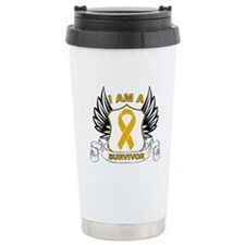 Survivor Appendix Cancer Travel Mug
