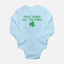 Part Irish All Trouble Onesie Romper Suit