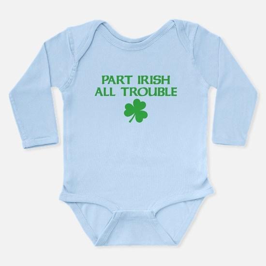Part Irish All Trouble Onesie Romper Suit