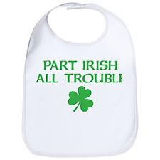 Part Irish All Trouble Bib
