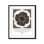 Samhain Celtic Knotwork Framed Panel Print