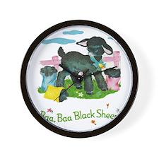 Cool Black sheep Wall Clock