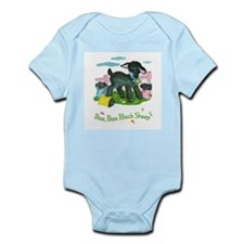 Unique Baa baa black sheep Infant Bodysuit