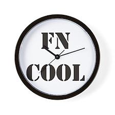 FN Cool Wall Clock