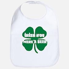 Irish You Were A Beer Bib