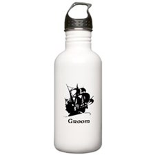 Groom Pirate Ship Water Bottle