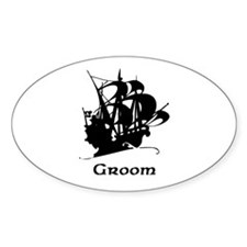 Groom Pirate Ship Decal