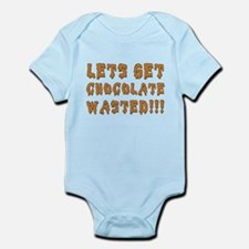 Chocolate Wasted Infant Bodysuit