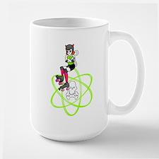 kat-atomic kitty with atom Mug