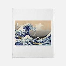 Cute Wave Throw Blanket