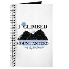 I Climbed Mount Antero Journal