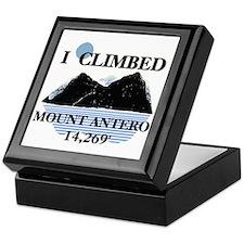 I Climbed Mount Antero Keepsake Box