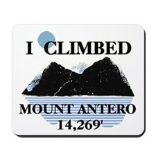 I Climbed Mount Antero Mousepad