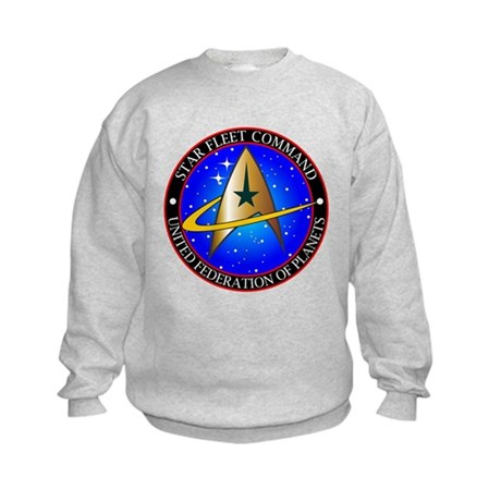 Star Fleet Command Kids Sweatshirt